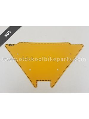 Raceplate ASCO triangle (available in different colors)
