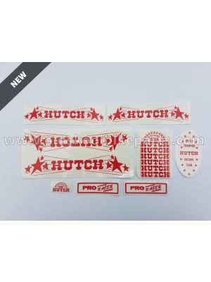 Hutch Pro Racer frame decal