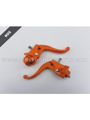 MX brakelevers orange