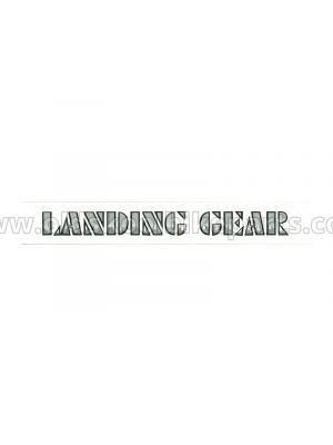 Landing Gear - Fork parts decals
