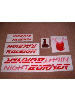 Raleigh Night Burner frame decal