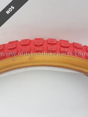 Cheng Shin 20x1.75 gumwall/red Tire