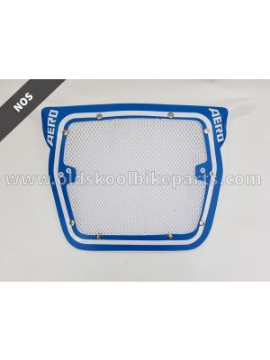 Aero Raceplate yellow-blue