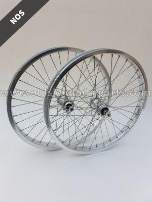 Wheelset ols skool silver