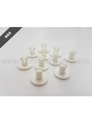 Raceplate Pins White (10 pcs)