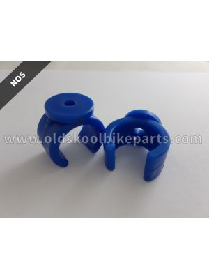 Raceplate Clamps Blue Pair
