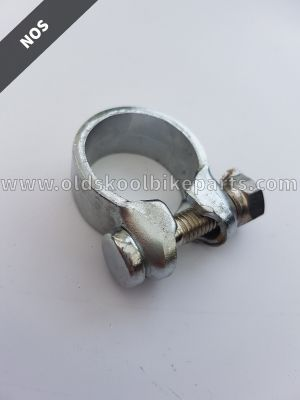 Seatpostclamp chrome
