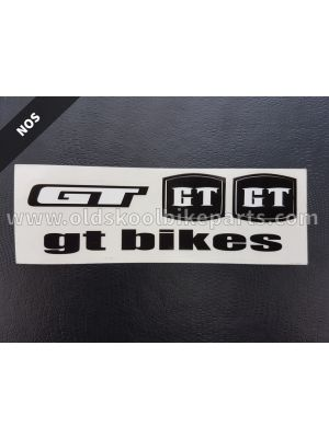 GT bikes decal