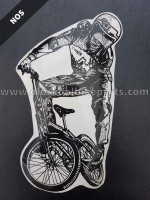 BMX decal large