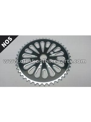 Chainring Ocp 44t black