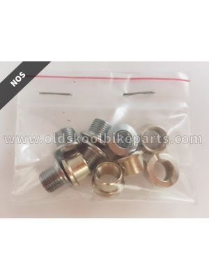 Chainring bolts chrome