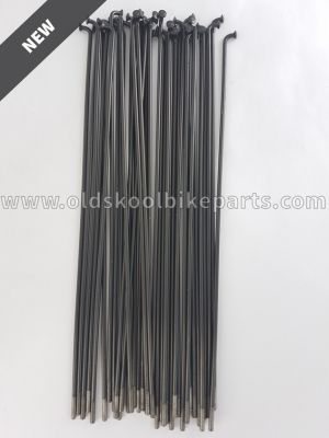 Spokes Stainless 14 36pcs black
