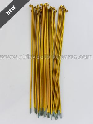 Spokes Zinc 14 36pcs Yellow