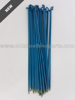 Spokes Zinc 14 36pcs Blue