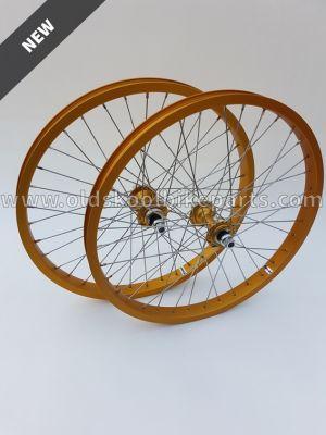 Weinmann / Maillard / Hoshi Wheelset Gold