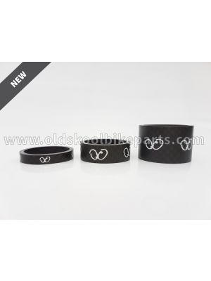 Carbon Spacers 11/8 Inch 5-10-20 mm