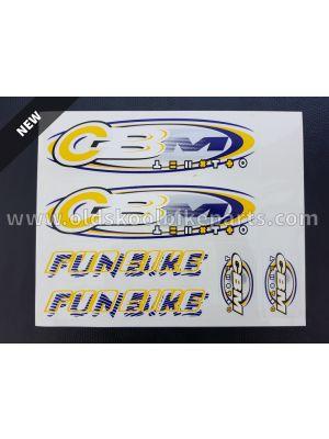 Funbike Decals