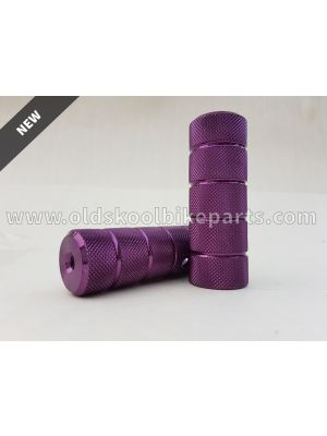BMX freestyle pegs 10 mm normal (purple/blue/black)