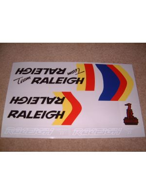 Raleigh Team Burner frame decal